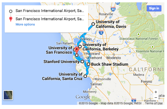 Suggested College Tour Itineraries - College Kickstart on