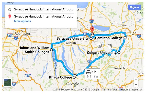 Hobart And William Smith Campus Map.Suggested College Tour Itineraries College Kickstart